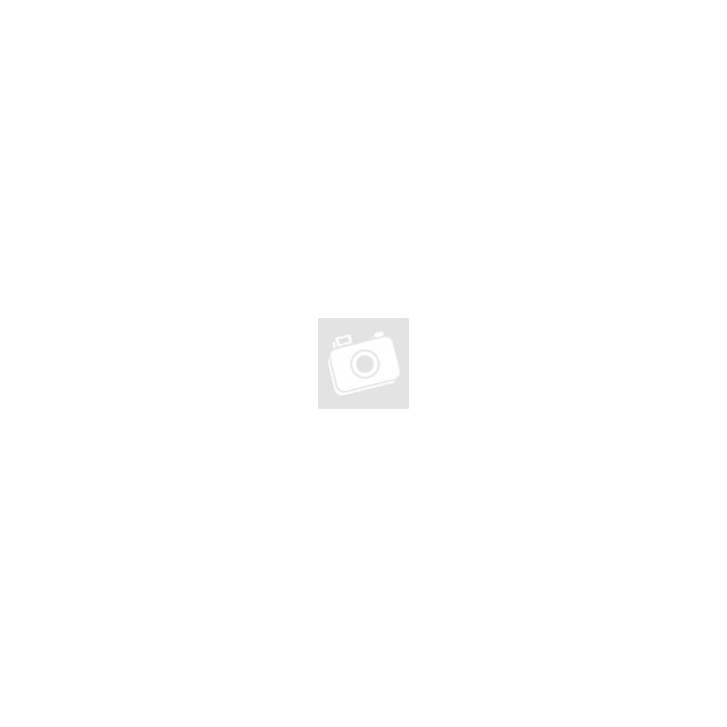Fehér achát, rózsakvarc ásvány karkötő